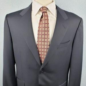 Canali Men's Black Blazer with Free Tie